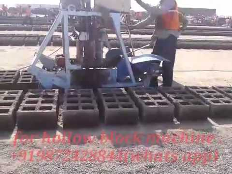 concrete block/hollow block/ cement block making best machine