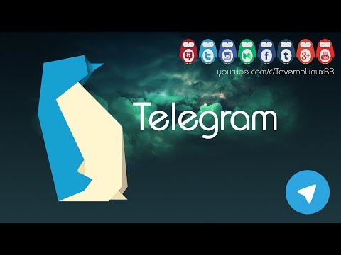 Telegram no Ubuntu e derivados • Instalação e Review