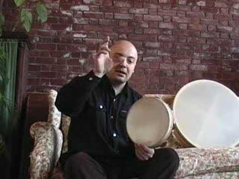 frame drum Video Podcast - Episode 11 - Andrea Piccioni