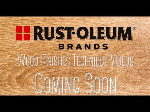 COMING SOON: Wood Finishing Techniques Series
