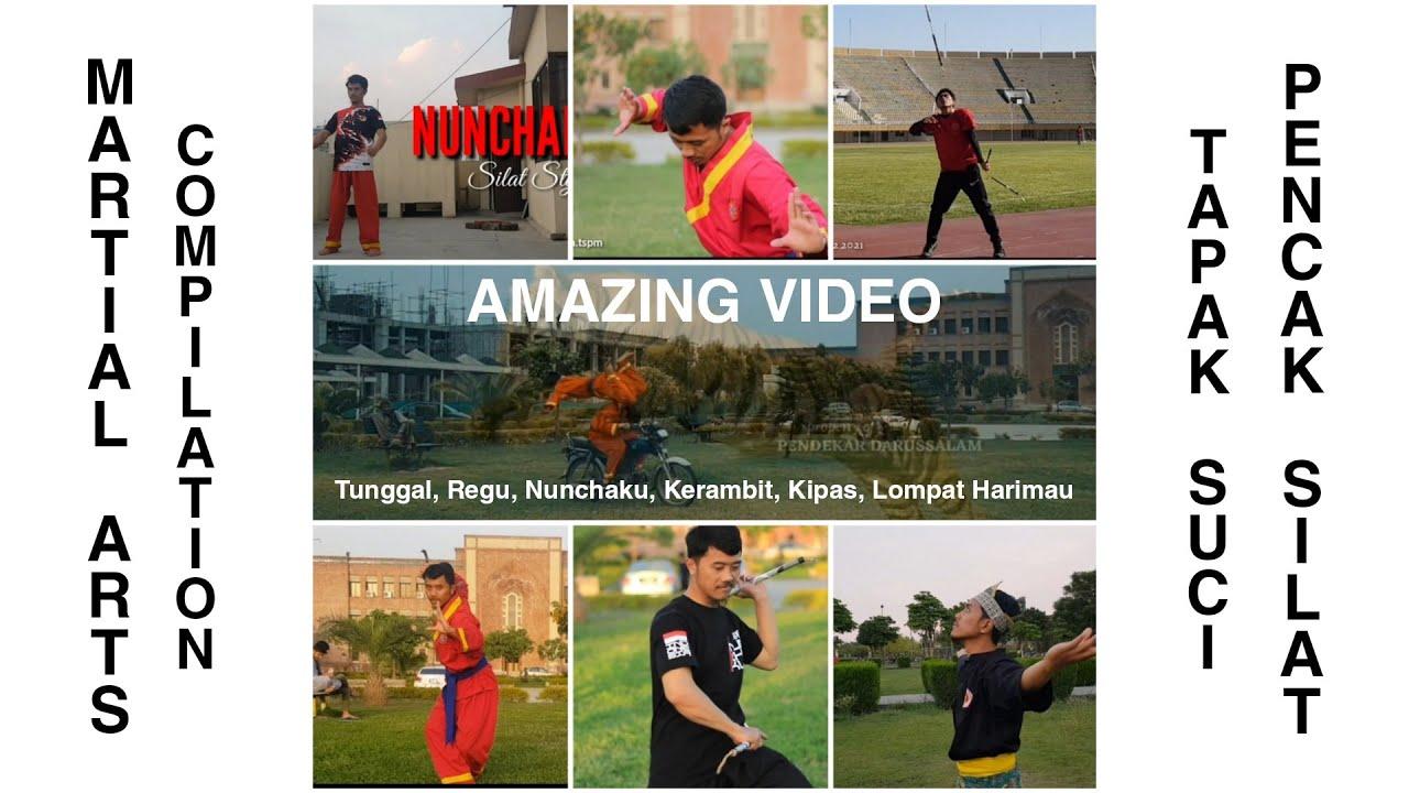 Amazing Martial Art Demonstration   Kompilasi Atraksi Pencak Silat by Mustaqim TSPM