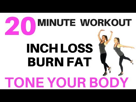 EXERCISE AT HOME - 20 MINUTE WORKOUT TO LOSE WEIGHT, BURN FAT AND TONE YOUR BODY FOR WOMEN AT HOME