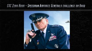 [C&C Zero Hour] Speedrun - Airforce Challenge on Hard Mode