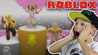 HOW TO WIN IN ROBLOX FASHION FAMOUS BY BEING A NERD!!!