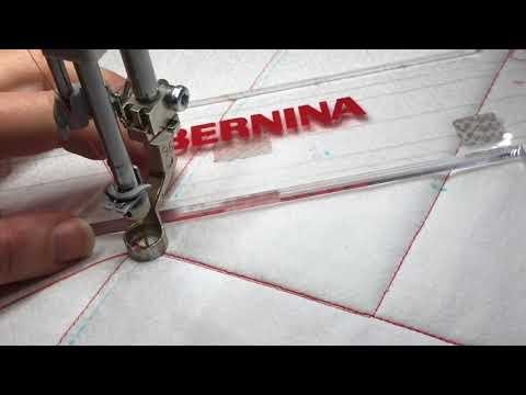 BERNINA Rulerwork Quilt-along Part II, Area 4 - YouTube