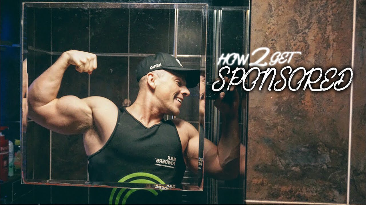 HOW TO GET A FITNESS SPONSORSHIP | Clothing, Supplements, Food Sponsors  Clothing Sponsorship