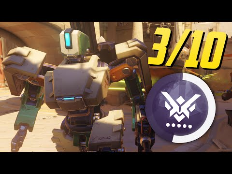 """BASTION POWER! - 3/10"" (Overwatch Competitive Mode)"
