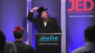 "JED: ""Making Decisions and Avoiding Traps of the Ego"" w Rabbi YY Wenglin"