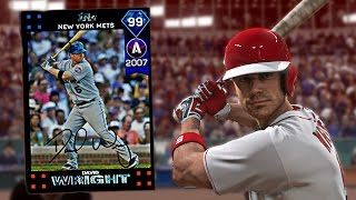 99 DAVID WRIGHT DEBUT! ANTHONY RIZZO 3 HR GAME! MLB The Show 17 Diamond Dynasty Gameplay