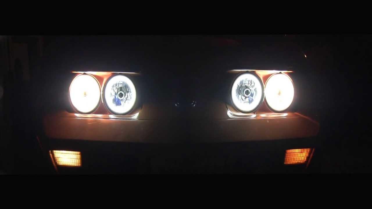 1973 C3 Corvette Stingray Led Halo Headlights And Tail