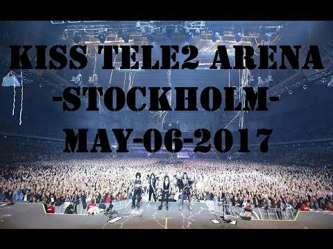 KISS TELE2 ARENA - May 06 2017 - STOCKHOLM SWEDEN