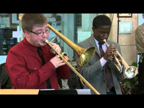 """WKMS """"Sounds Good - Live Lunch"""" featuring Todd Hill & the MSU Blue Jazz Combo"""