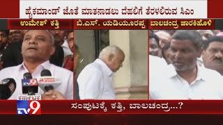 BSY To Meet BJP High Command Today To Discuss Cabinet Berth For Umesh Katti, Balachandra Jarkiholi