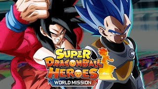 SUPER DRAGON BALL HEROES WORLD MISSION LET'S PLAY FR #01