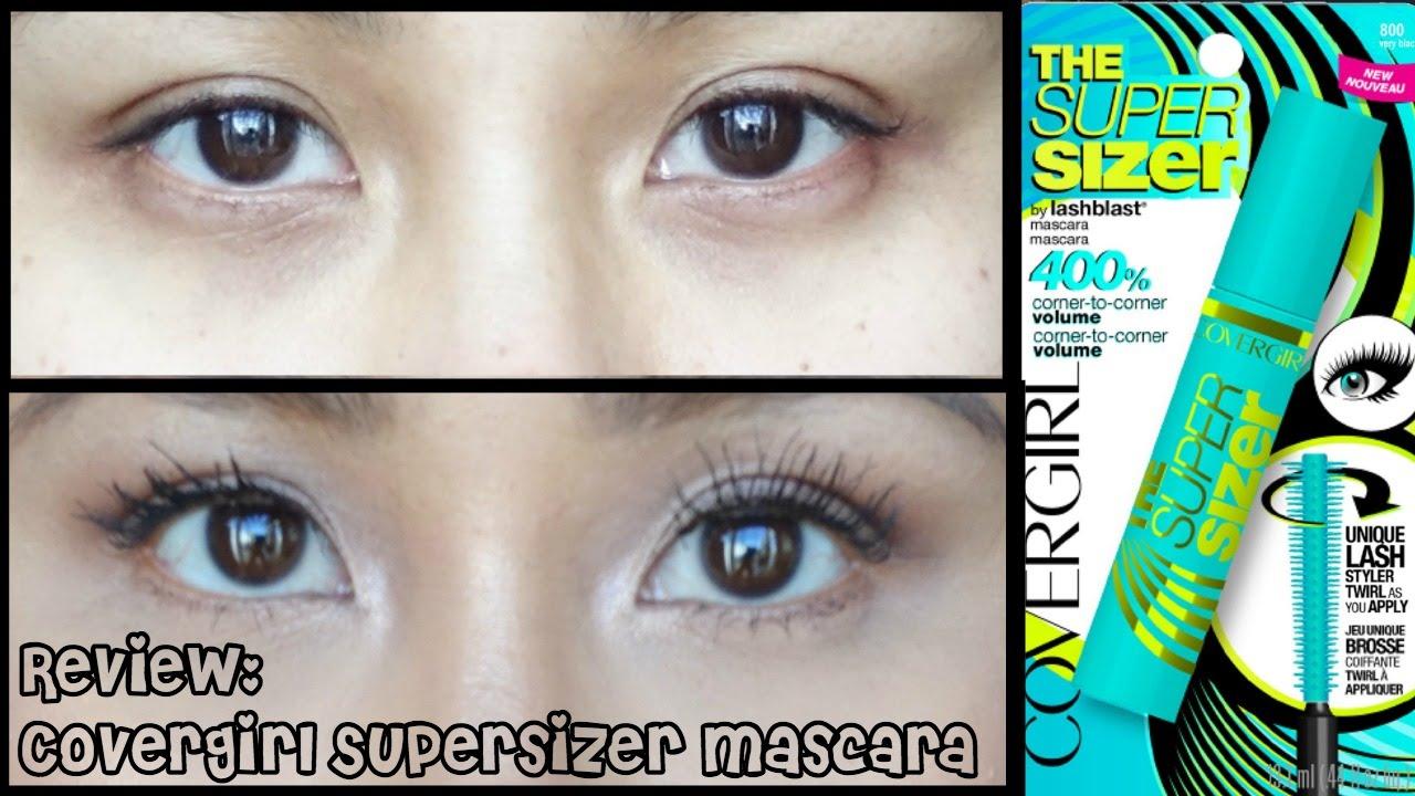 928380b5b31 CoverGirl The Super Sizer Mascara Review (Regular vs. Waterproof ...