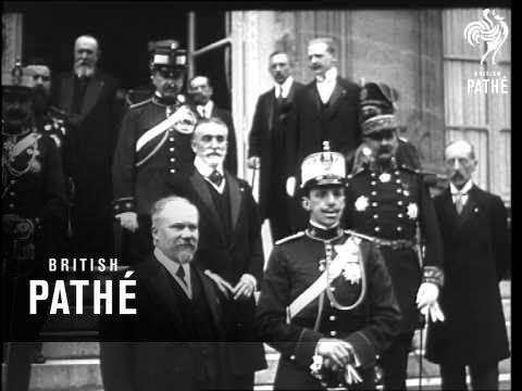 Alphonse Xiii Aka Victor Emmanuel Iii  Aka King Alfonso Xiii Of Spain (1910-1919)