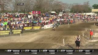 Ryan Villopoto and Jeremy Van Horebeek battle MXGP of Thailand 2015 - motocross