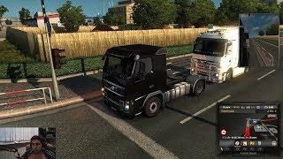 "Wycc и Банда играют в ""Euro Truck Simulator 2""●(ThePagYYY)#1"