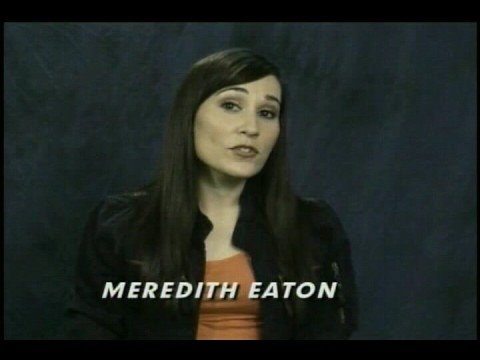 Meredith Eaton speaks to residents of Los Angeles about ...