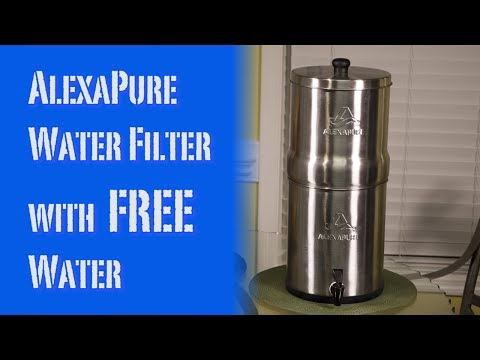 AlexaPure Pro Water Filter with Free Water Review