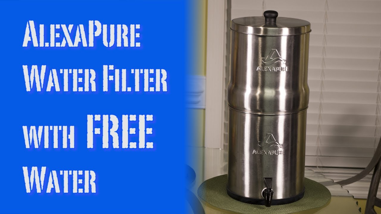 Water Filter System With Free Rainwater Review Alexapure