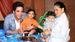 Tusshar kapoor's son's birthday party with kareena kapoor's baby taimur