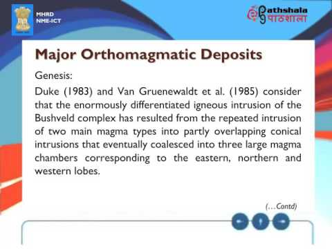 ORTHOMAGMATIC DEPOSITS part 1