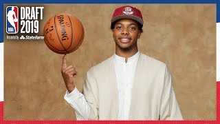 Darius Garland Selected 5th OVERALL! | 2019 NBA Draft