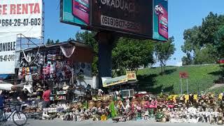 Artesanías en la frontera de Tijuana Y USA