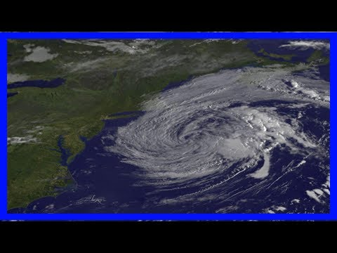 Breaking News | Satellite view of post-tropical cyclone jose fading
