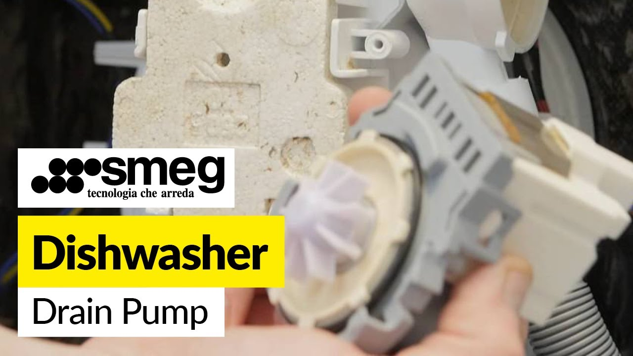How To Replace A Dishwasher Drain Pump  Smeg