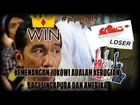 Jokowi Menang ❗️ Singapura dan Amerika Rugi Bandar 😆 | Wonderdir Pilpres