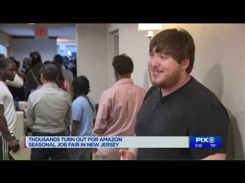Thousands Look For NJ Amazon Jobs In Wake Of Pay Increase Announcement