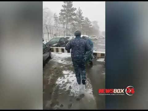 Сотрудники колонии в Спасске-Дальнем скрутили мужчину, принесшего передачу для заключенного