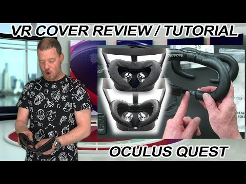 Oculus Quest VR Cover Review and Tutorial