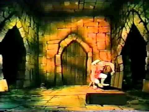 Dragon's Lair Deleted Scene - Castle Entrance