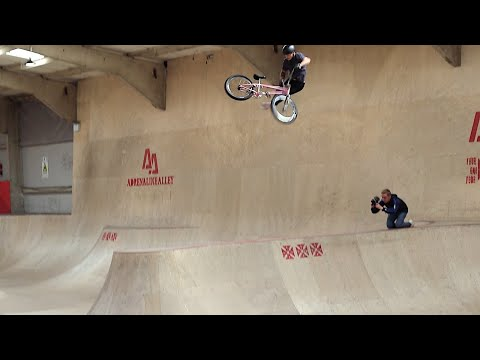 Kid lands Impossible trick! The 900 Tailwhip!