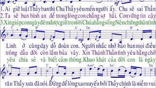 BÀI HÁT : AI YÊU MẾN THẦY / TÁC GIẢ :Huỳnh Minh Ký + Đinh Công Huỳnh