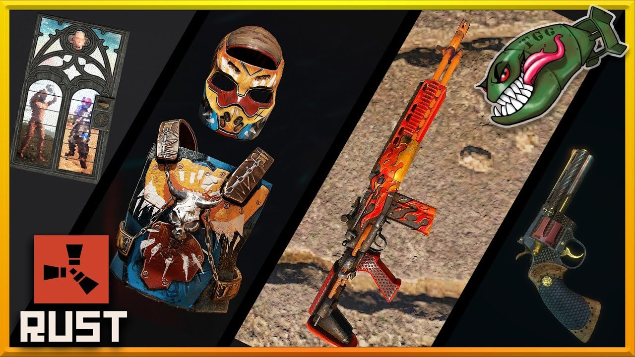 Rust Top Skins | Tactical, Warlord, & Circuit Break HQ, Dance Floor,  Blazing M39 #59 (Skin Picks)
