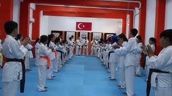 Türk Karate Duayenlerinden Hanshi,İsmet Turna Elit Sporcu Semineri Antalya Karate Nebi Güney İHO