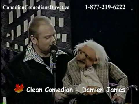 Damien James - CLEAN COMEDIAN and VENTRILOQUIST