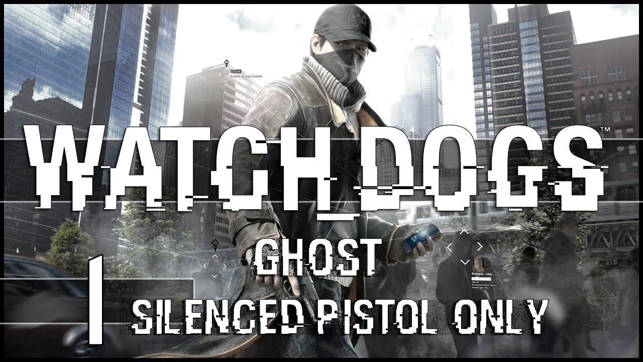 Silenced Pistol Watch Dogs