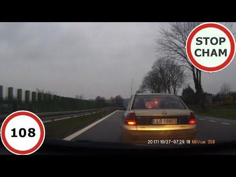 Stop Cham #108 – Niebezpieczne i chamskie sytuacje na drogach
