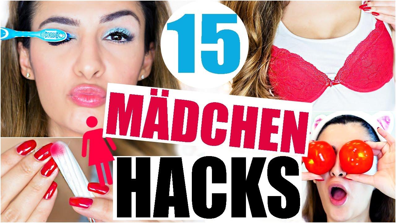 15 MÄDCHEN LIFE HACKS IN 5 MINUTEN 💁 BEAUTY & FASHION
