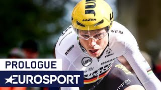Tour de Romandie 2019 | Prologue Highlights | Cycling | Eurosport