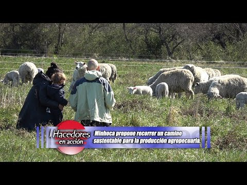 Germán Rearte - Minhoca - Agricultura Orgánica en Villa Tabossi, Entre Ríos