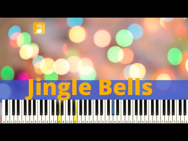 Jingle Bells Piano Tutorial Zeer eenvoudig
