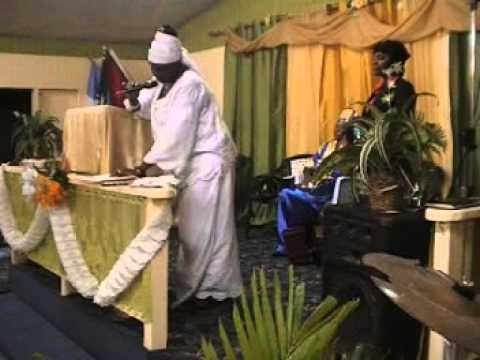 City of Faith Deliverance  Center   Antigua July 2013 Convention  Open The Flood Gates Of Heaven, Le