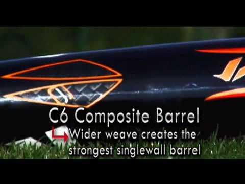 2010 DeMarini Vendetta C6 -3 Adult Baseball Bat: DXVCB