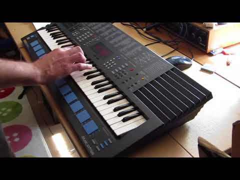Skunkafunk - Lofi 2 Op FM Synth Electro Funk on the Yamaha Pss-680 Cheap 80's Keyboard